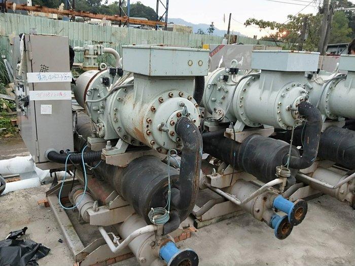 (大台北)中古東元40RT氣冷冰水冷機3φ380V(編號:TE1081205)發電機冷氣拆除.冰水機二手回收租賃 *