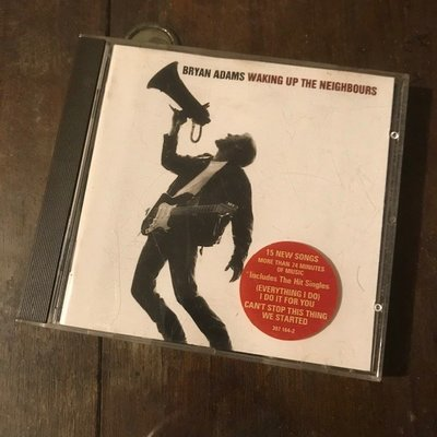 ~春庄生活美學小舖~2手CD         BRYAN ADAMS/WAKING UP THE NEIGHBOURS