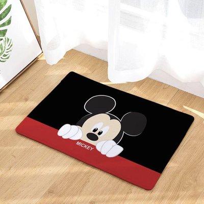 現貨 韓國 法蘭絨 米老鼠 米奇 止滑 地墊 地毯 玄關墊 舒服 超質感