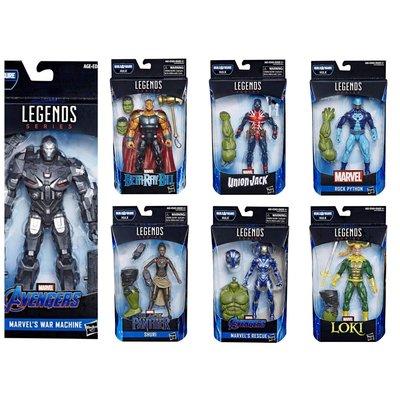 【全新】 Avengers: Endgame Marvel Legends series (Hulk BAF) Set of 7 - Wave 2 無限之戰