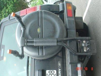 LAND ROVER DISCOVERY   RANGE ROVER  SPORT攜車架 腳踏車架 自行車架 正廠原件