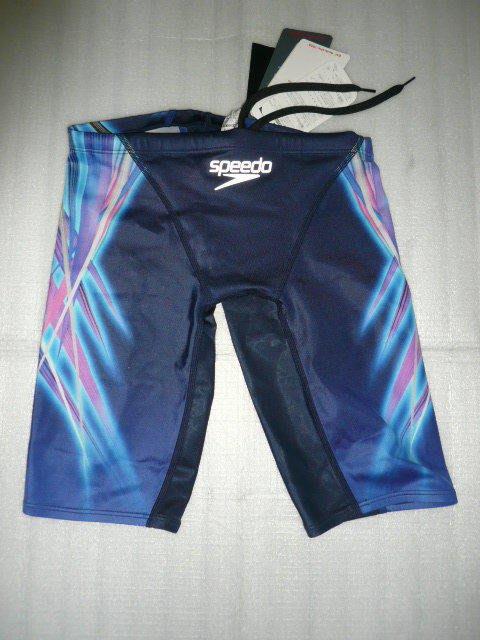 ^^n0900^^【台灣健立最便宜 】-2018 SPEEDO 日本製物料競技及膝式泳褲-SD8069765478(藍)
