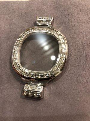 Patek philippe 百達翡麗 PP錶 金鷹系列5711G、5712G 白k金精鑲鑽圈、鑽扣