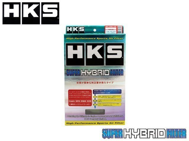 日本 HKS Super Hybrid 引擎 空氣 濾心 Honda Civic 8代 FD1 06-11 專用