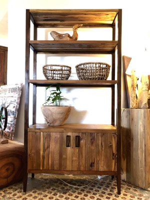 老柚木收納櫃-Kelly Bookcase