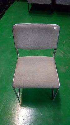二手家具宏品 台中全新中古傢俱店 F041342*灰色布餐椅 書桌椅 電腦椅*2手桌椅拍賣 辦公桌椅 會議桌椅 麻將椅