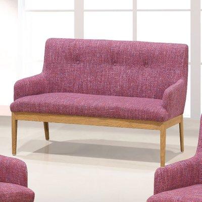 【優比傢俱生活館】19 便宜購-SF#5粉紅色布2人/二人/雙人沙發 SH711-3