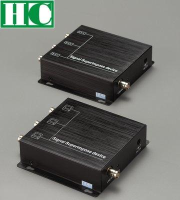 保誠科技~三路影像訊號擴充器含稅價 單軸傳輸300米 支援RS485訊號傳輸 省施工線材降低施工難度 賣場另有高清擴充器
