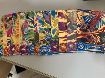 [台版]七龍珠機台卡片 Super Dragon Ball Heros 1~2彈二星卡每張2元 隨機出貨