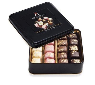 (預購)土耳其 Selamlique 綜合巧克力土耳其軟糖 mixed chocolate Turkish delight selection 200g