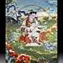 【 金王記拍寶網 】S1398  中國西藏藏密佛像刺繡唐卡 駐生送子娘娘 刺繡 (大張) 一張 完美罕見~