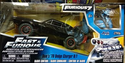 Fast and Furious 7 Dom's 70 Dodge Charger Remote Control