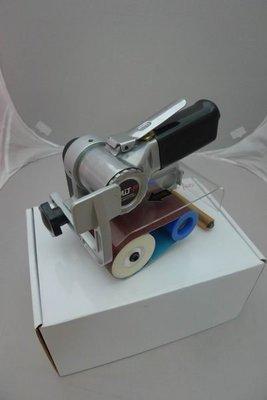 附發票*東北五金*正台灣製 2吋半  氣動砂布環帶機 砂輪機 砂紙機 海綿輪 HT-720 優惠特價中!