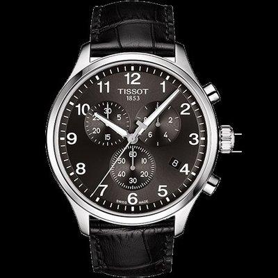 Tissot 天梭速馳系列皮帶石英男腕錶 T1166171605700