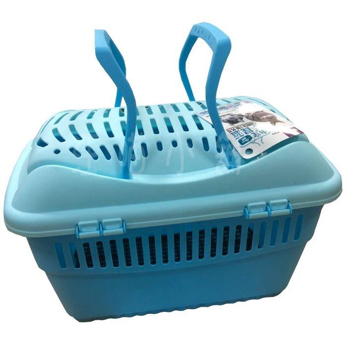 ☆汪喵小舖2店☆ JOLLY 小寵手提籃 JP352 // 適合兔子、天竺鼠、龍貓、寵貂等小動物 // 藍色、粉紅色任選