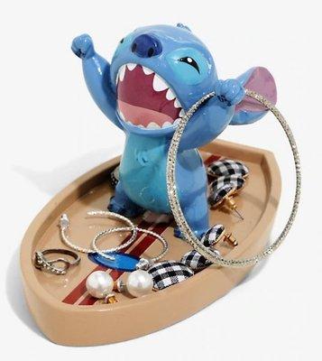 預購 美國帶回 DISNEY LILO & STITCH 迪士尼 星際寶貝 卡通 衝浪史迪奇 飾品盤 耳環戒指收納盤