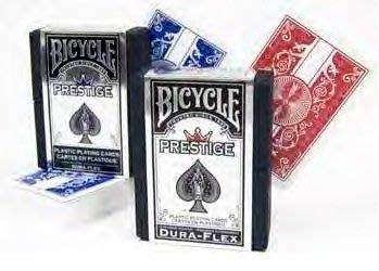 【USPCC撲克】撲克牌BICYCLE Prestige(精裝版)-藍色