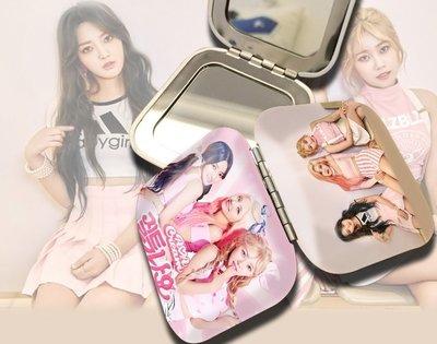 預購/AOA CREAM I am Jelly Baby同款迷你便攜式摺疊化妝鏡子定製周邊