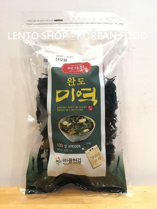 LENTO SHOP - 韓國 廣川 莞島 海帶芽 海帶 100G   新品上架優惠