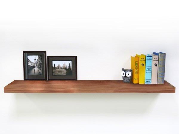 層板 (蘋果木色120cm 附托架) 棚板 / 壁架 / 層架 / 牆架   & DIY組合傢俱