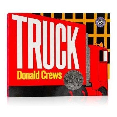 Truck卡車經典系列 凱迪克大獎 Donald Crews 英文英語繪本 幼兒童啟蒙圖畫故事書 早教益智早交