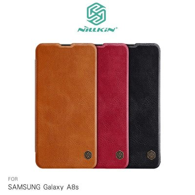 *phone寶*NILLKIN SAMSUNG Galaxy A8s 秦系列皮套 側翻皮套 可插卡 超薄皮套 保護殼