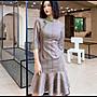【Fashion歐洲站】旗袍年輕款少女中國風短款修身中長袖新式修身旗袍改良版連衣裙裝