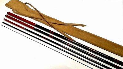日本製GAMAKATSU がまへら 15尺 並繼鯽魚竿(SHIMANO DAIWA NFT RYOBI)