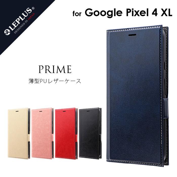 """Leplus Pixel 4 XL """"PRIME"""" 耐衝擊側掀皮套"""