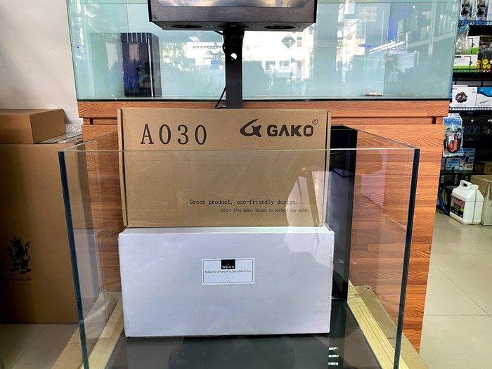 海葵達人*台製1.5尺(45*35*36cm)6mm超白玻璃海水背濾套缸(全配JNS WS-0.5+A030觸控夾燈)