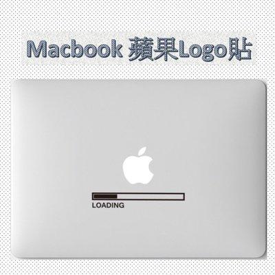 macbook蘋果logo貼筆電外殼貼紙貼膜蘋果筆電個性裝飾(任選1入)_☆優購好SoGood☆