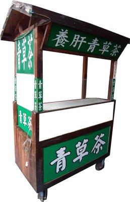 木製餐車   2手木製車台  壽司 飯糰 雞蛋糕  小吃攤 展售台