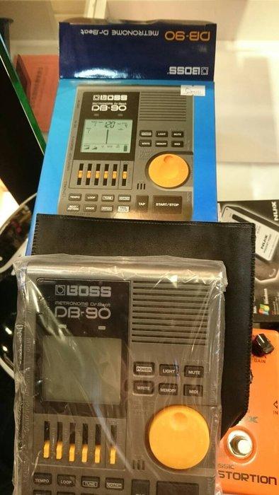 【名人樂器免運優惠】鼓手愛用 專業級電子節拍器BOSS DB-90 Dr.Beat (也有TAMA)