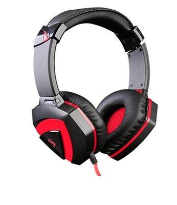 附發票【鼎立資訊 】A4 BLOODY G500 立體聲遊戲耳麥 電競耳機麥克風 全罩式耳麥
