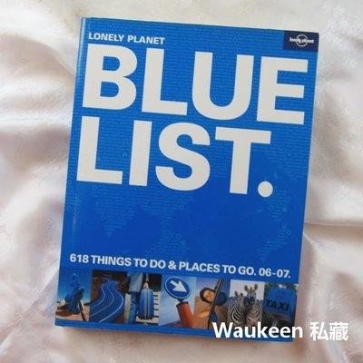 孤獨星球藍寶書 Lonely Planet Bluelist BLUE LIST 618個值得造訪的景點 背包客必備聖經