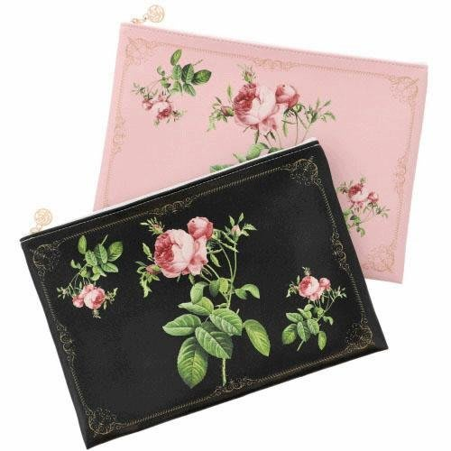 預購~ANGELIQUE SPICA日本製宮廷玫瑰 化妝包 包中包 共兩色