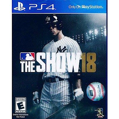 美國職棒大聯盟 18 MLB The Show 18 PS4  二手