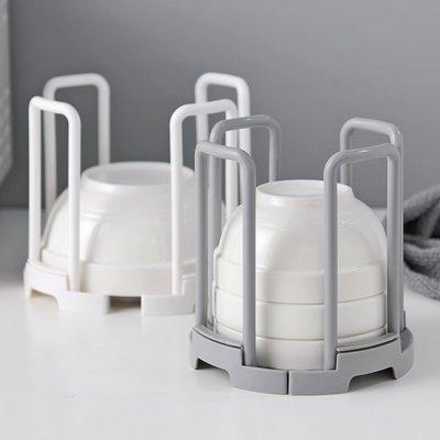 吖吖雜貨店*可伸縮碗架置物架塑料瀝水碗架 廚房碗筷收納架放碗架子優惠推薦