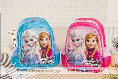 mandyshop【M3615】㊣ Disney 迪士尼FROZEN冰雪奇緣造型書包/背包