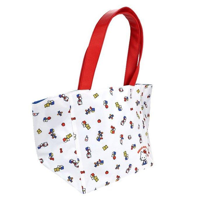 X射線【C606353】Hello Kitty 45週年手提袋,提袋/提網/提包/把手提袋/手提包