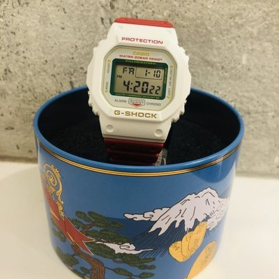 CASIO G-SHOCK DW-5600 series DW-5600TMN-7 招財貓 紅x白 GSHOCK DW5600TMN
