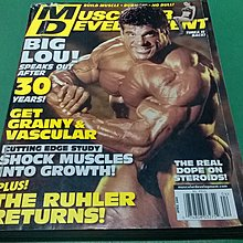 大熊舊書坊-美國健身健美運動雜誌 MUSCULAR DWVELOPMENT.APRIL 2009-5@