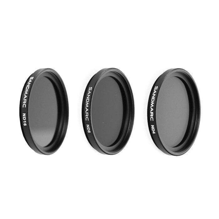 SANDMARC GoPro Hero5/6/7 專用ND減光鏡套組(KARMA 空拍適用)免運費