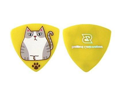 Daiking Corporation Sabashiro 1.0mm PICK 吉他彈片 貓咪