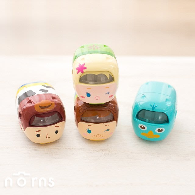 Norns 【日貨Tomica迪士尼TSUMTSUM小汽車】日本多美小汽車 玩具車 胡迪 泰瑞