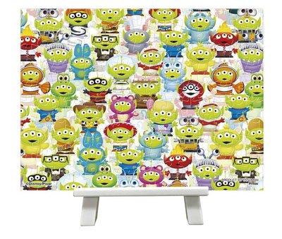 日本進口拼圖 迪士尼 玩具總動員 三眼怪 150片迷你塑膠拼圖 免框附腳架 2301-37