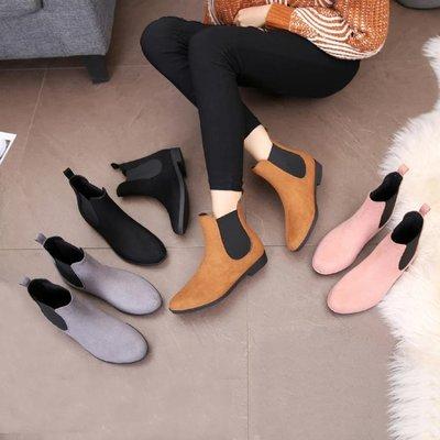 韓國中筒可愛雨鞋女四季低筒學生水靴防滑可愛雨靴磨砂時尚水鞋   全館免運