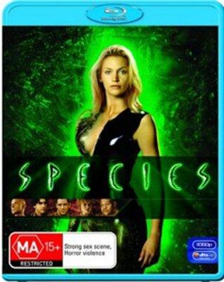【藍光電影】異種 1 / Species (1995)  索尼S780之前的藍光機不兼容