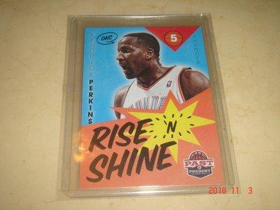 美國職籃 NBA Thunder Kendrick Perkins  2012-2013 Panini #5 球員卡