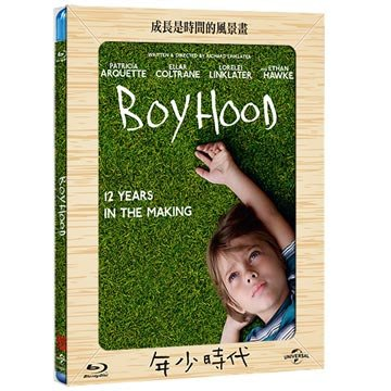合友唱片 面交 自取 年少時代 藍光 Boyhood BD